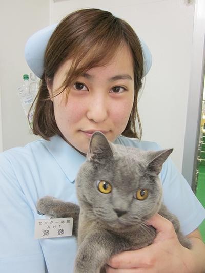 川口市の動物病院「どうぶつのセンター病院」の看護師